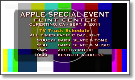 truck slide that showed during apple event