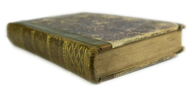 a real, hardback, vintage book