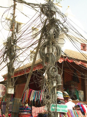 typical wiring bundle
