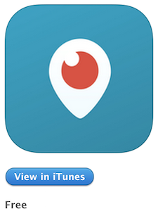 Periscope Logo from the App Store