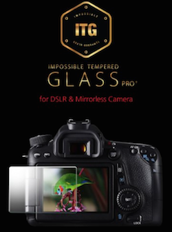 Tempered Glass going on a camera
