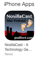 NosillaCast app logo linking to App Store