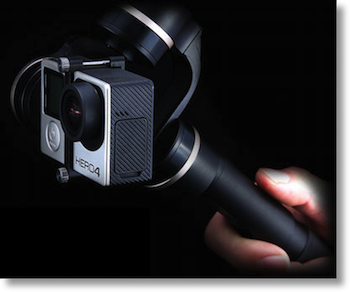 Feiyu G4 gimbal with GoPro
