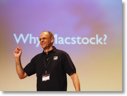 Mike asking Why Macstock?