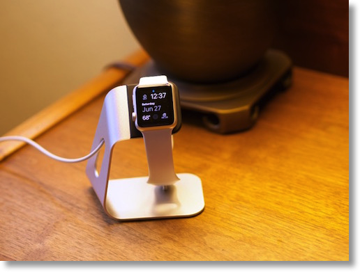 spigen with Apple Watch resting on it