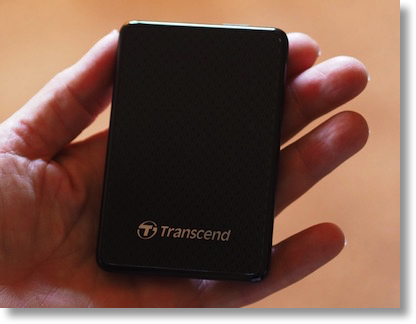 Transcend 128GB backup drive