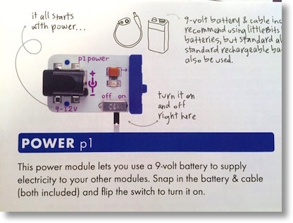description of power module as read out loud