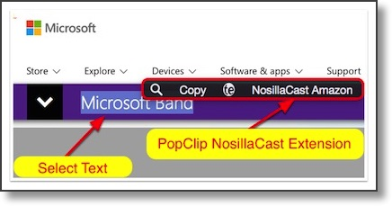 my popclip extension