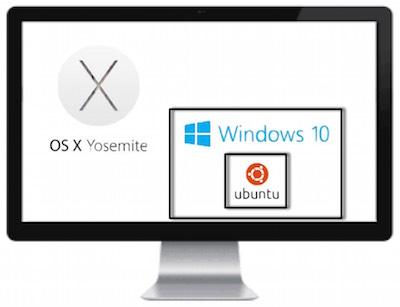 ubuntu inside windows 10 inside yosemite